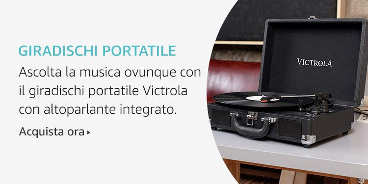 Amazon Launchpad: Giradischi portatile