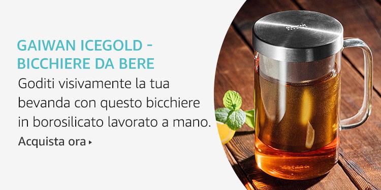 Amazon Launchpad: GAIWAN Icegold - Bicchiere da bere