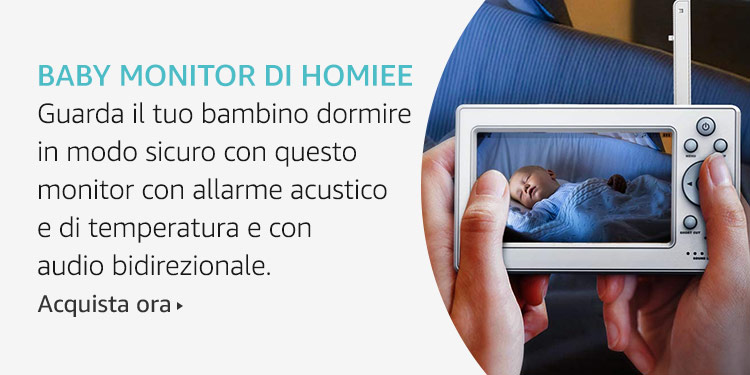 Amazon Launchpad: Baby monitor di Homiee