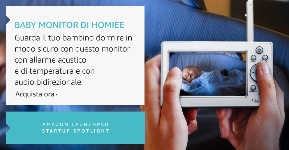 Amazon Launchpad:Baby Monitor Di Homiee