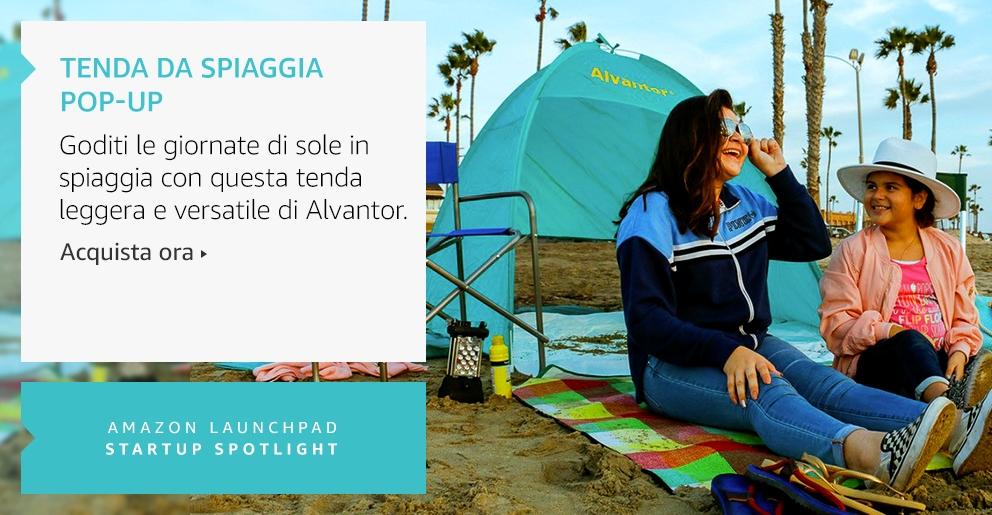 Amazon Launchpad:Tenda da spiaggia Pop-Up