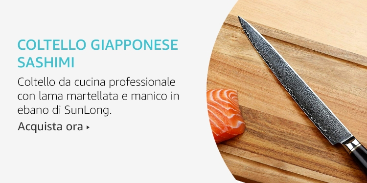 Amazon Launchpad: Coltello giapponese sashimi