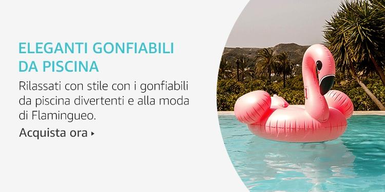Amazon Launchpad: Eleganti gonfiabili da piscina