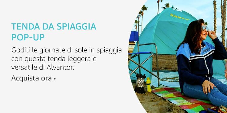 Amazon Launchpad: Tenda da spiaggia Pop-Up