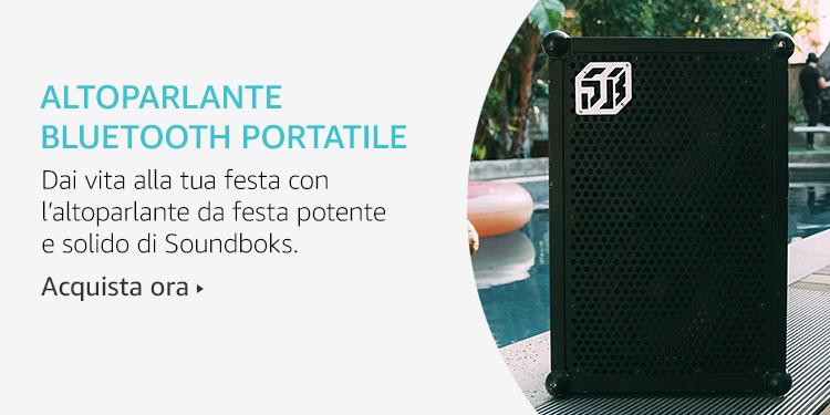 Amazon Launchpad: Altoparlante bluetooth portatile