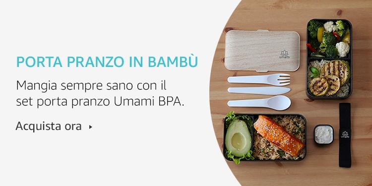 Amazon Launchpad: Porta pranzo in Bambù