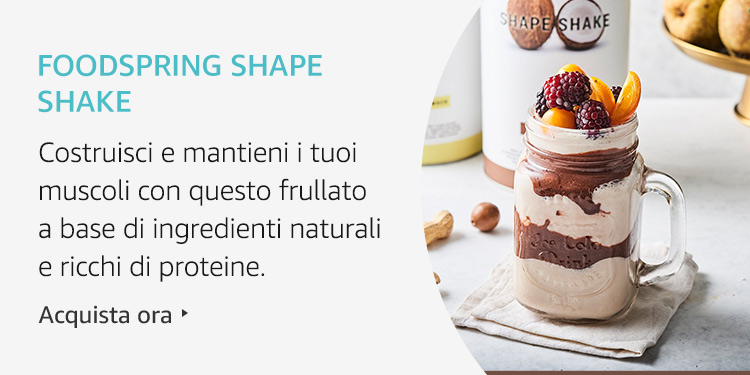 Amazon Launchpad:Foodspring Shape Shake