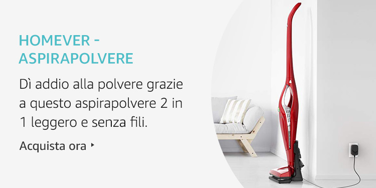 Amazon Launchpad: Homever - Aspirapolvere