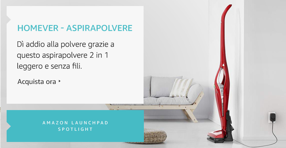 Amazon Launchpad:Homemver-Aspirapolvere
