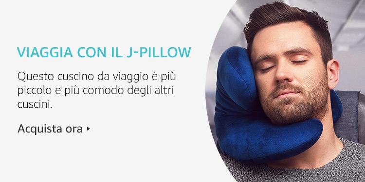 Amazon Launchpad: Viaggia con il J-Pillow