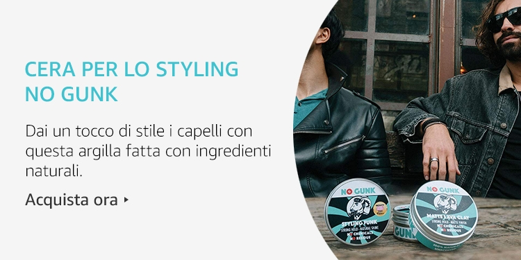 Amazon Launchpad: Cera per lo styling No Gunk