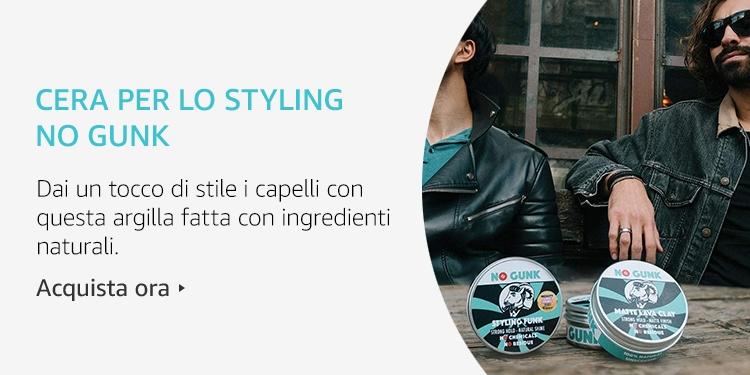 Amazon Launchpad: Cera per lo styling No Gunk