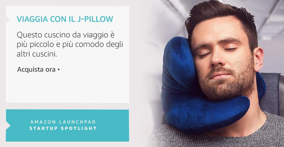 Amazon Launchpad Viaggia con il J-Pillow
