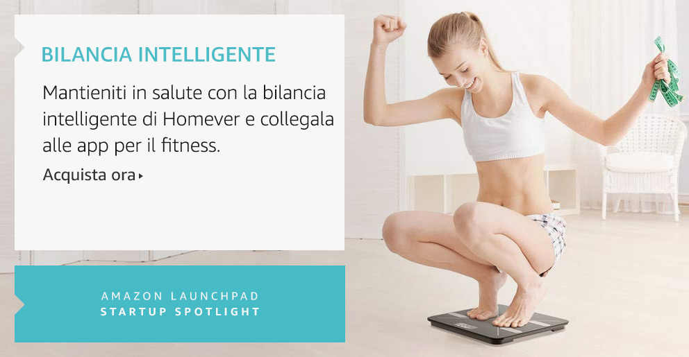 Amazon Launchpad:Bilancia Intelligente