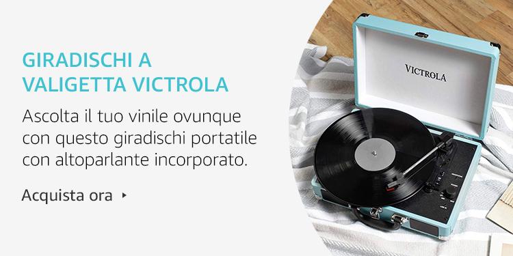Amazon Launchpad: Giradischi a valigetta Victrola