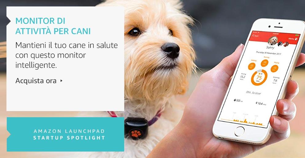 Amazon Launchpad:Monitor di attività per cani