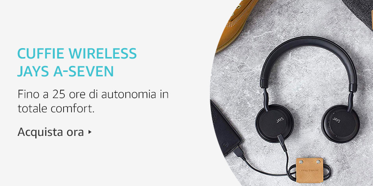 Amazon Launchpad: Cuffie wireless Jays a-Seven