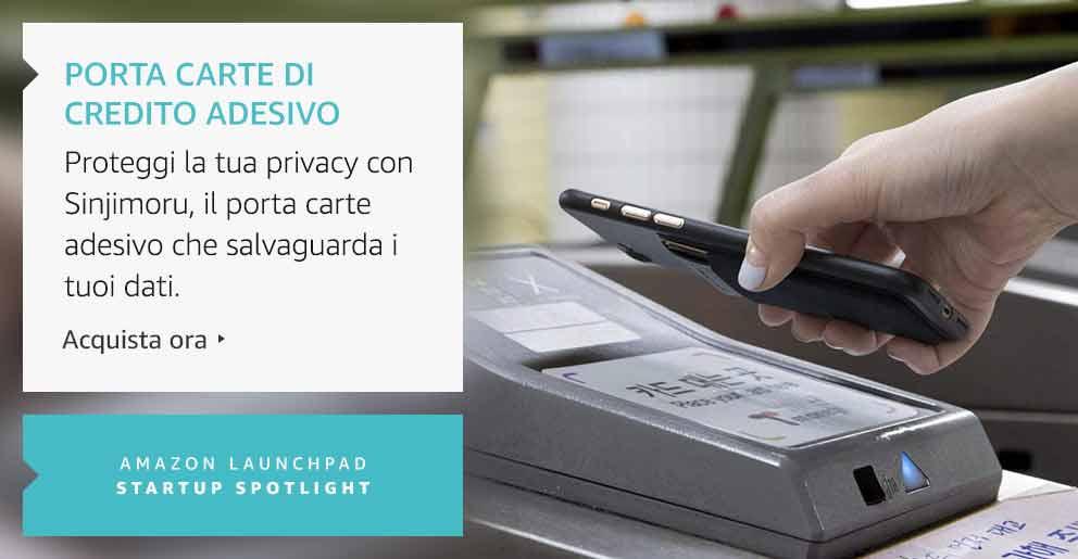 Amazon Launchpad: Porta carte di credito adesivo