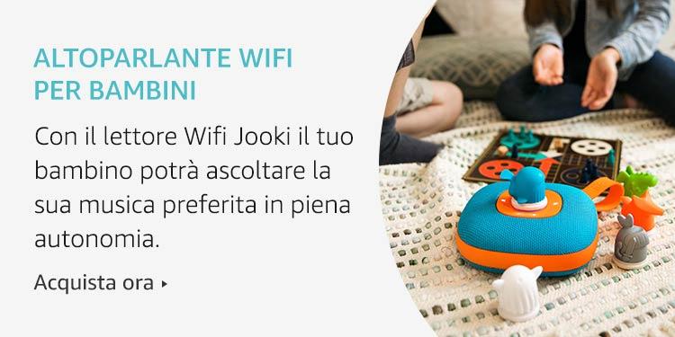 Altoparlante wifi per bambini