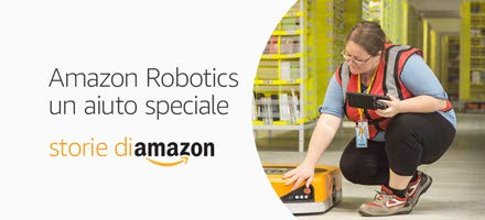 Amazon Robotics: un aiuto speciale