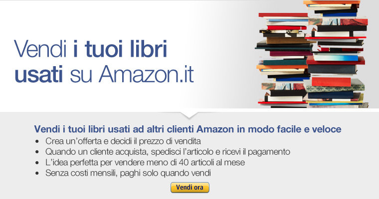 Vendi libri usati libri for Libri in vendita