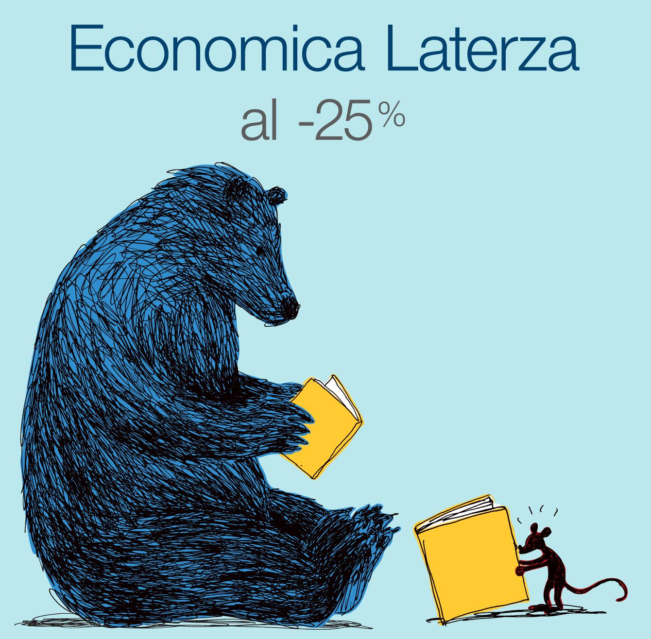 Economica Laterza al -25%