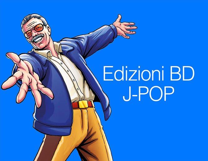 Edizioni BD e J-POP