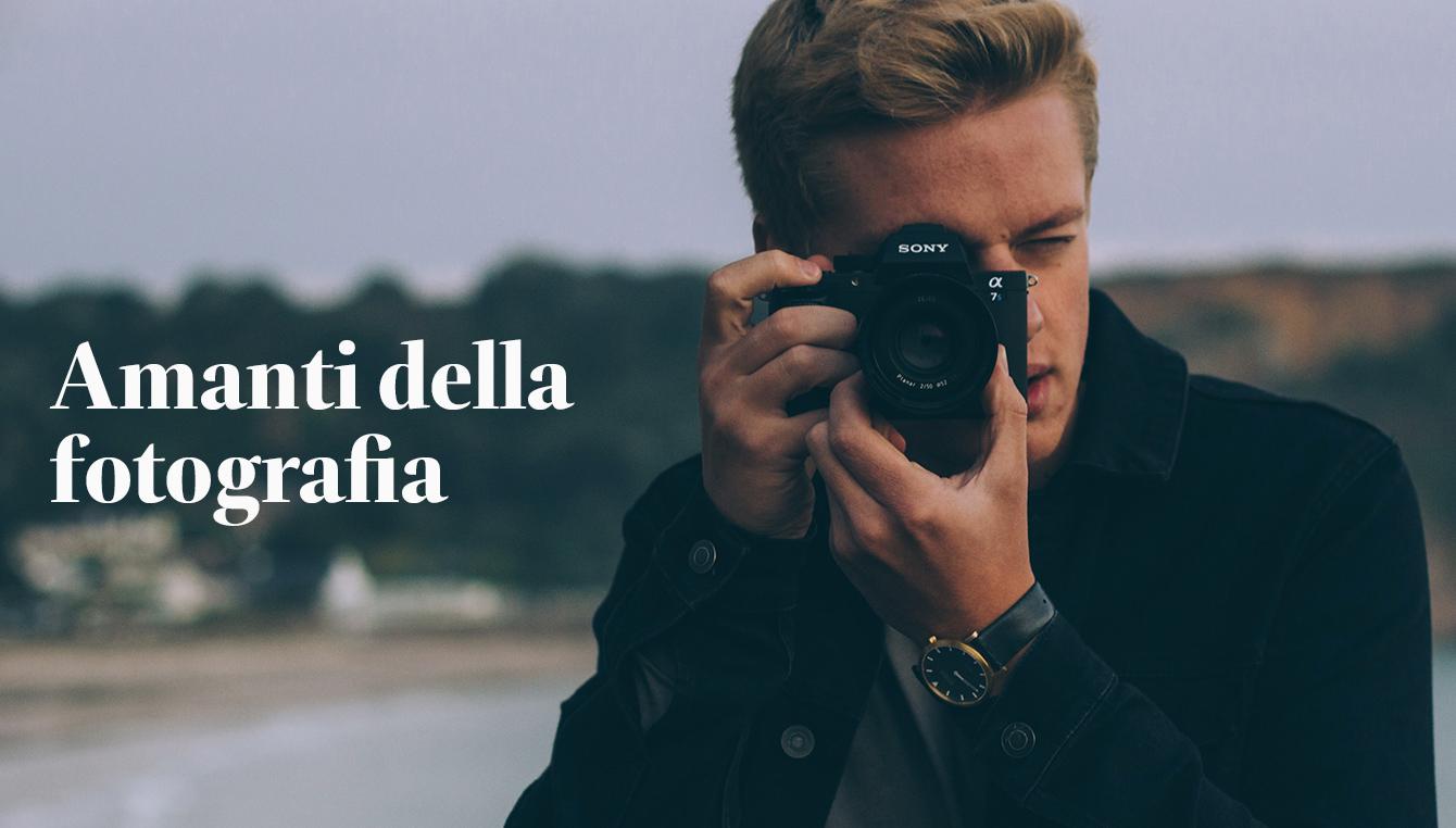 Amanti della fotografia
