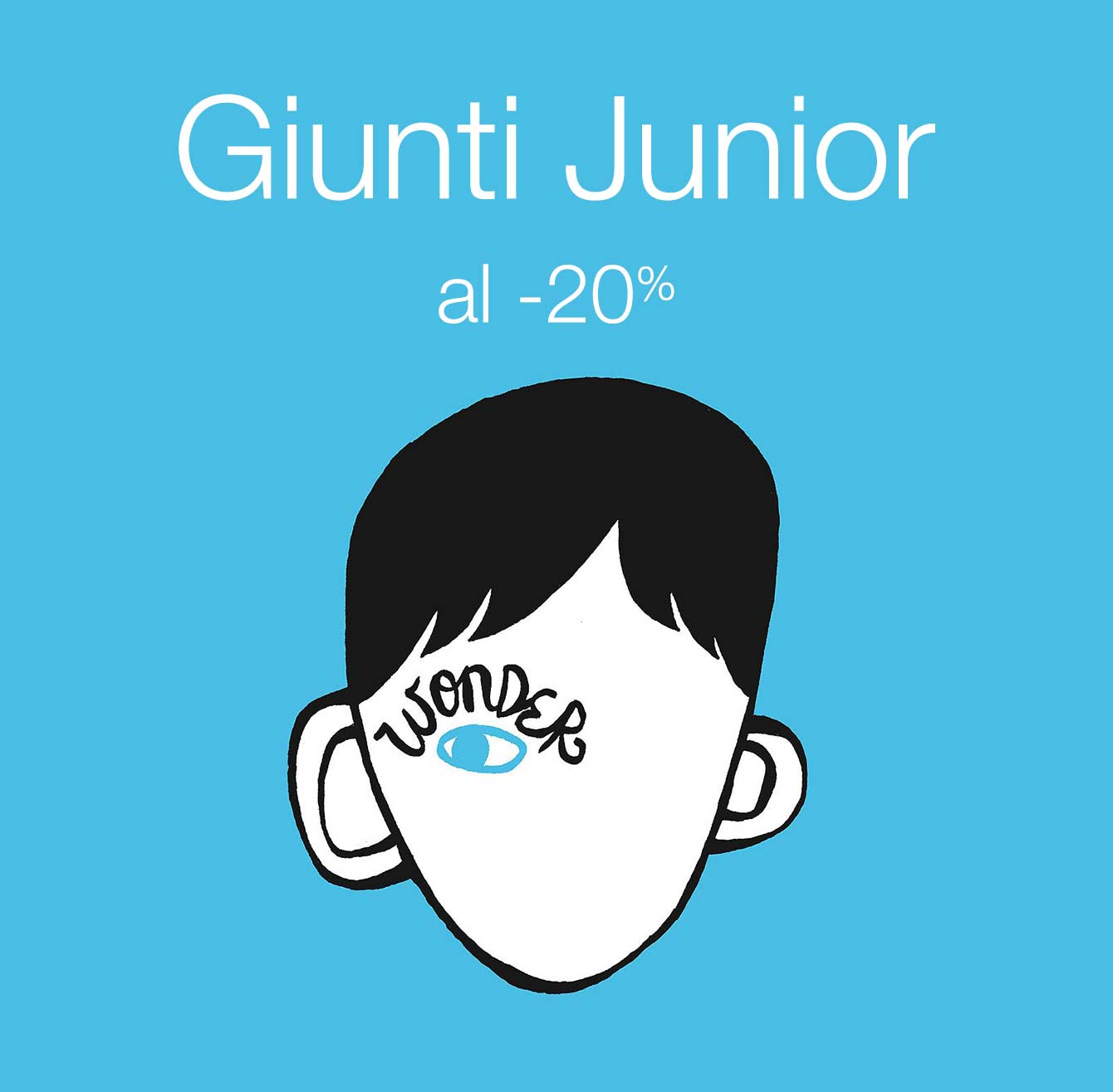 Giunti Junior al -20%
