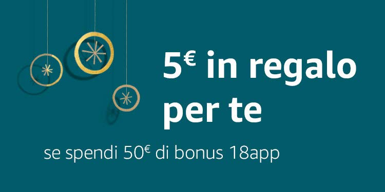 5€ in regalo per te