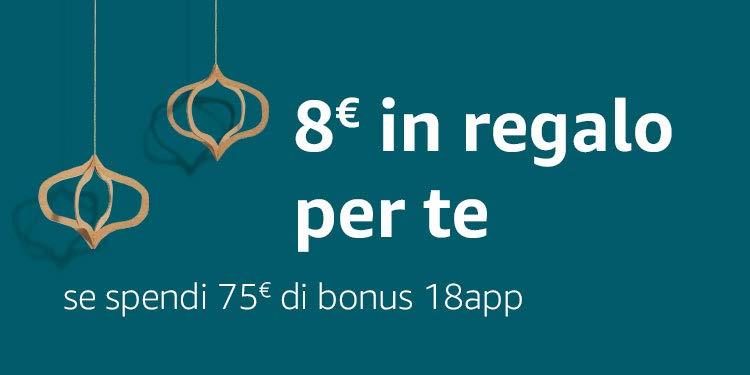 8€ in regalo per te