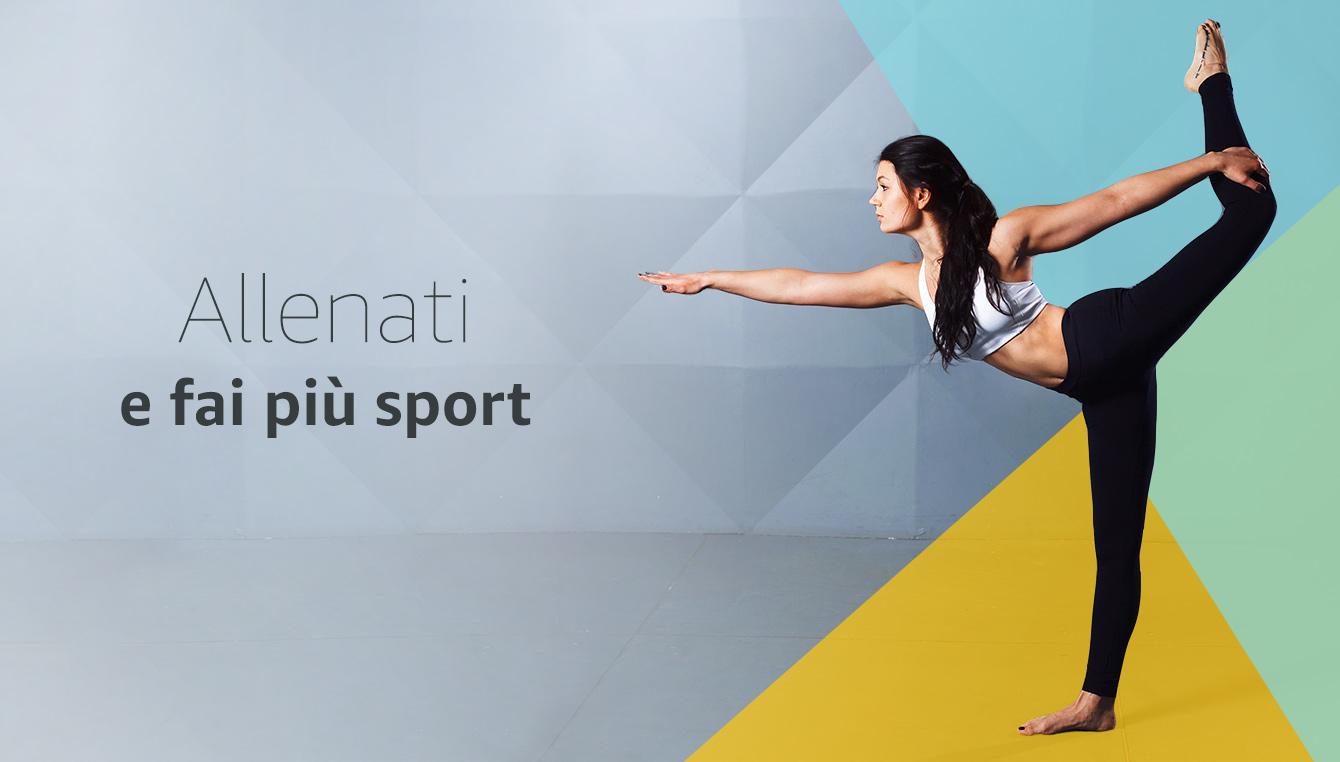 Allenati e fai più sport