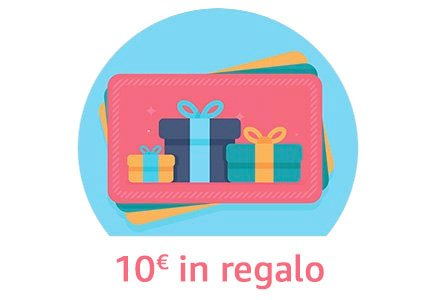 10 EUR in regalo