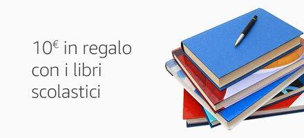 10 EUR in regalo per acquisti speriori a 60 EUR sui libri scolastici