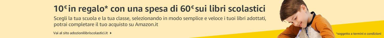 10 EUR in regalo con una spesa di 60 EUR sui Libri scolastici