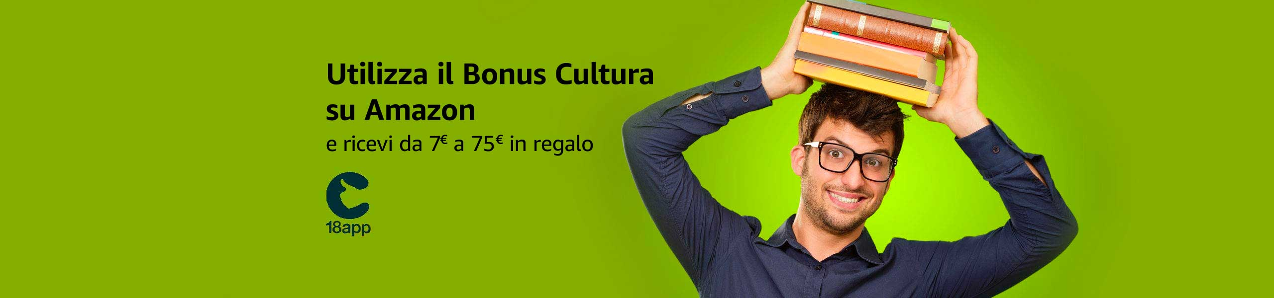 Utilizza il tuo bonus su Amazon.it