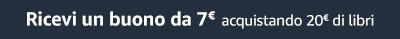 7€ acquistando 20€ di libri