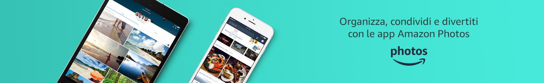 Organizza, condividi e divertiti con le app Amazon Photos