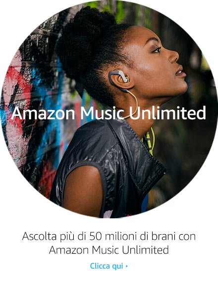 Ascolta più di 50 milioni di brani con Amazon Music Unlimited