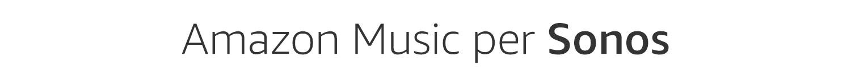 Amazon Music para Sonos