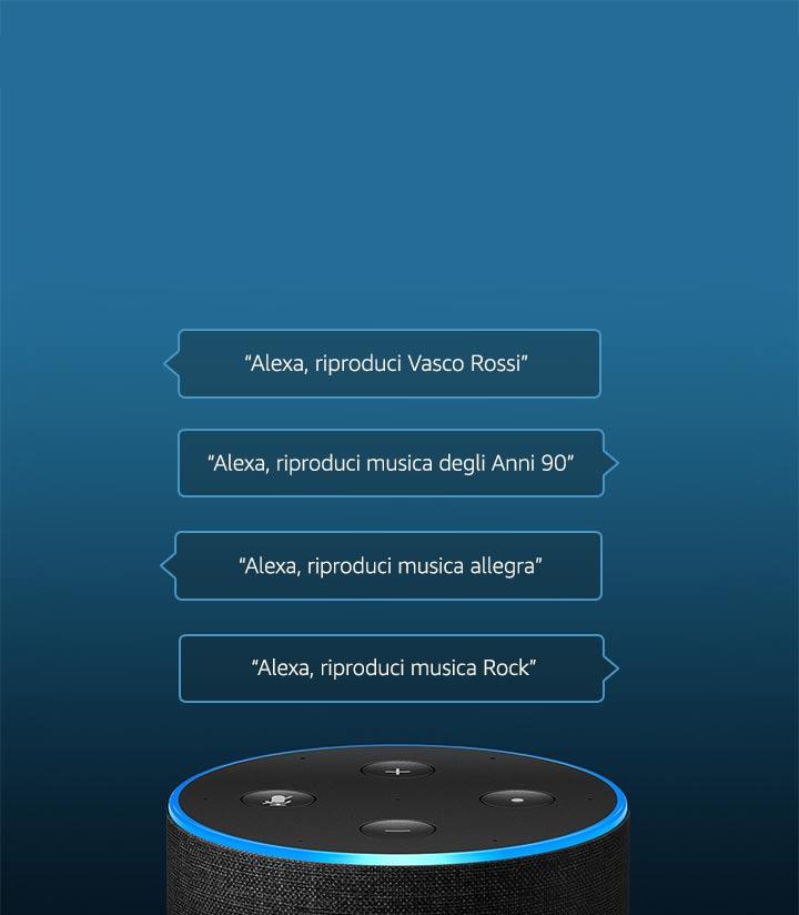 Amazon Music, Ancora meglio con Echo.