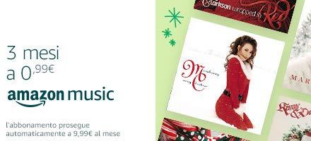 Amazon Music Unlimited: 3 mesi a 0,99 € €