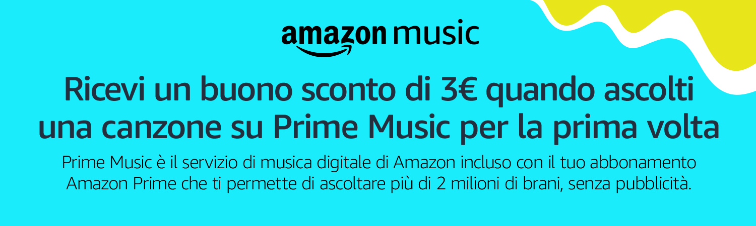 c04703d9b34690 Amazon.it: 3€ di sconto con Prime Music: Musica Digitale