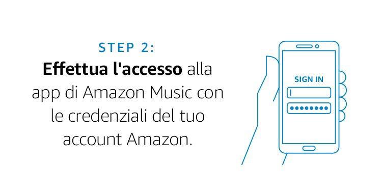 baf35ff1f75d20 Hai tempo fino al 30 Giugno 2019 per scaricare l'applicazione mobile di  Amazon Music ed effettuare l'accesso per la prima volta.