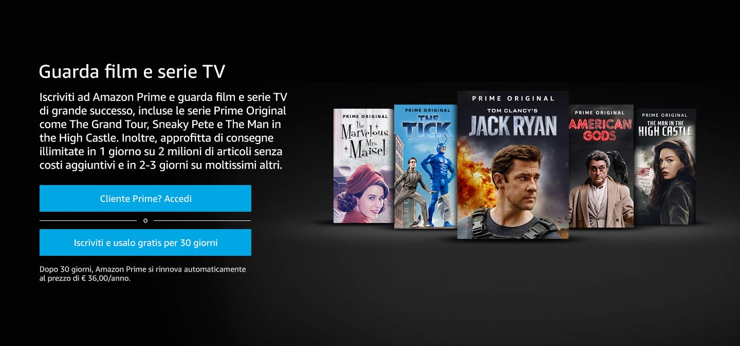 Amazon it: : Prime Video