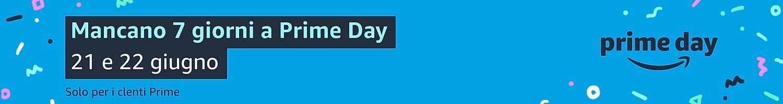Mancano 7 giorni a Prime Day