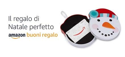 Scopri i Buoni Regalo de Natale Amazon.it