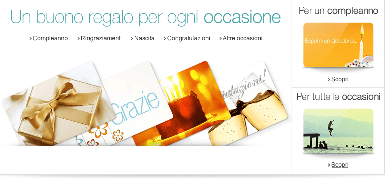 Buoni Regalo Amazon.it per ogni occasione
