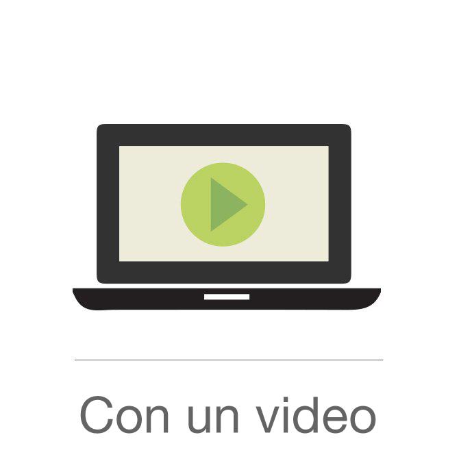 Con un video