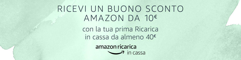 Ricevi un buono sconto Amazon da €10